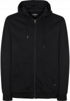 Mahagony Zip-Hoodies T.O.L. black-black Vorderansicht