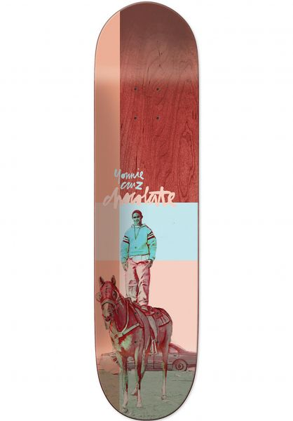 Chocolate Skateboard Decks Cruz City Cowboys multicolored Vorderansicht