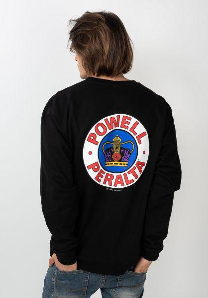 Powell-Peralta Sweatshirts und Pullover Supreme black vorderansicht 0422758