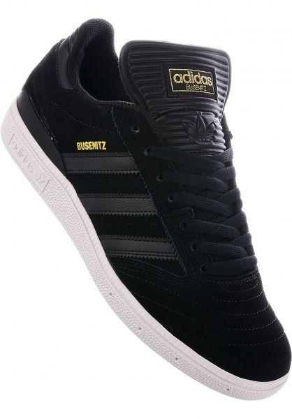 super popular edd54 9f24a adidas-skateboarding Alle Schuhe Busenitz Pro coreblack-coreblack-white  Vorderansicht