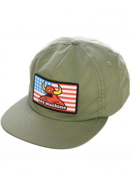 Toy-Machine Caps American Monster Unstructured army vorderansicht 0565894