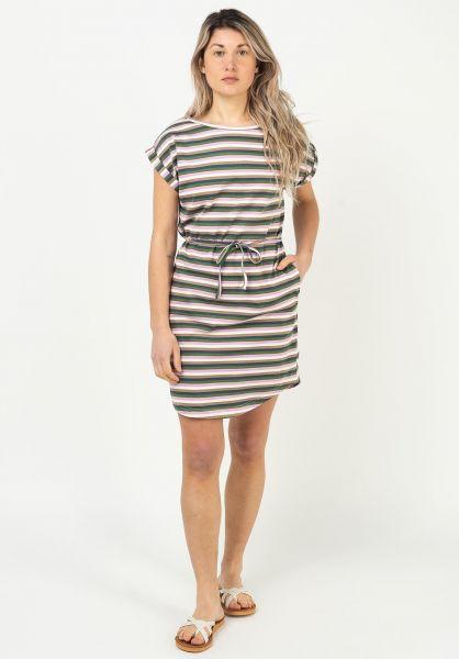 Wemoto Kleider Kano Stripe multicolor vorderansicht 0801564