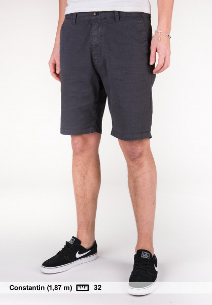 iriedaily Shorts Love City black-anthra Vorderansicht