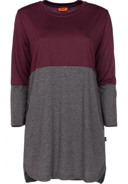 Plenty Humanwear Kleider Casual richplum-charcoal vorderansicht 0801354
