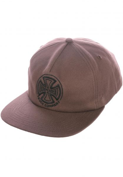 Independent Caps TC Embroidery chocolate vorderansicht 0566354