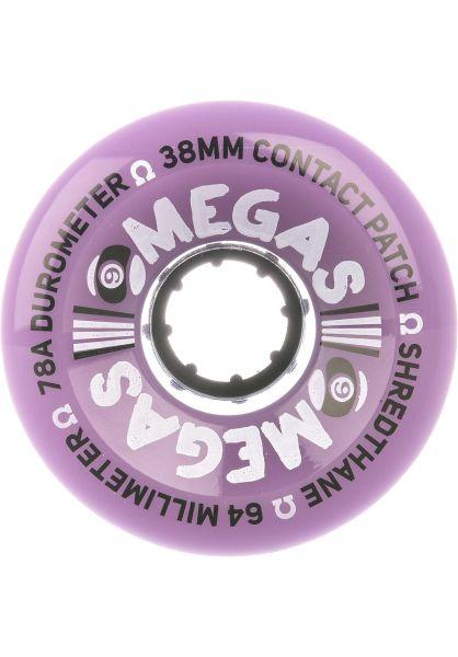 Sector-9 Rollen Omegas 78a purple vorderansicht 0255345