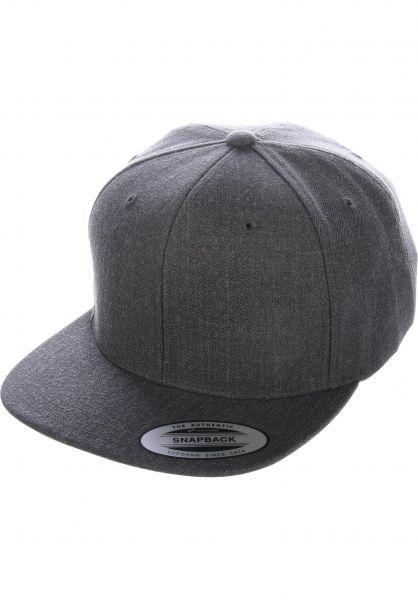 Flexfit Caps Snapback Cap alloverdarkgrey vorderansicht 0566389