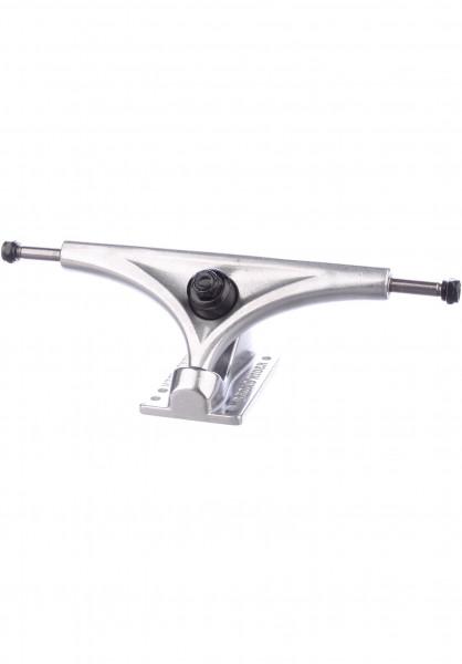 Road-Rider Achsen 180mm Longboard silver-silver Vorderansicht