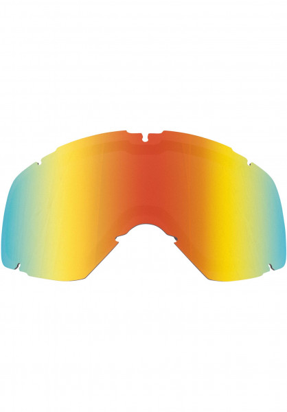 TSG Snowboard-Brille Replacement Lens Goggle Expect Mini red-chrome Vorderansicht