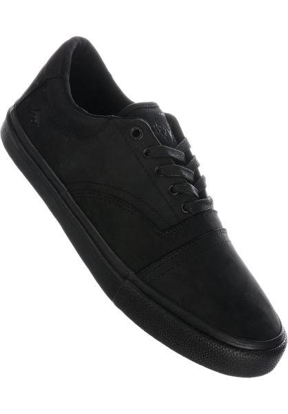 Emerica Alle Schuhe Provider black-black-black vorderansicht 0604580