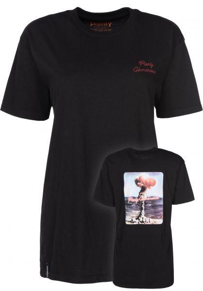 Plenty Humanwear T-Shirts Explosion black vorderansicht 0398366