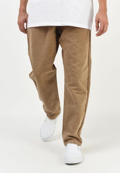 Carhartt WIP Jeans Newel Pant (Cropped) hamiltonbrown-worncanvas vorderansicht 0227155