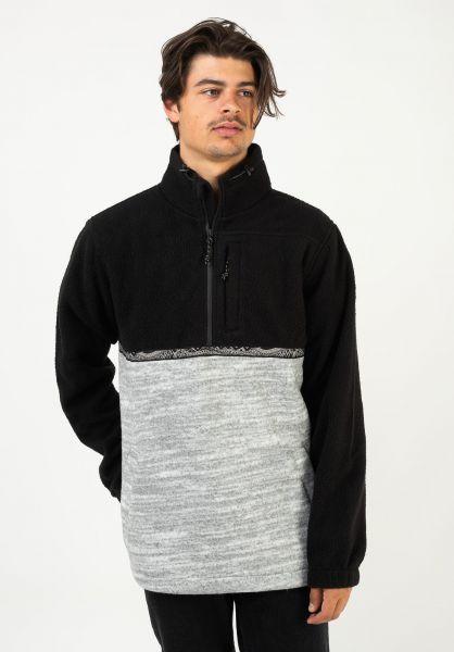 Billabong Sweatshirts und Pullover Boundary Mock Neck black vorderansicht 0423046