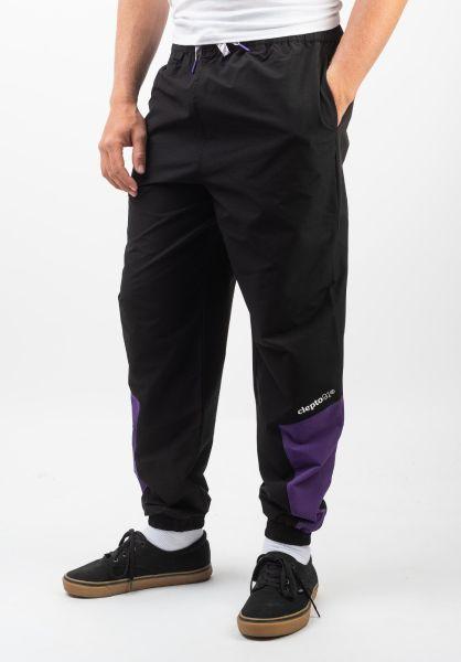 Cleptomanicx Jogginghosen Track Pants Two black vorderansicht 0680208