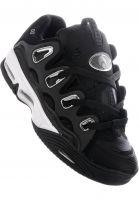 Osiris Alle Schuhe D3 2001 black-white-silver vorderansicht 0604118