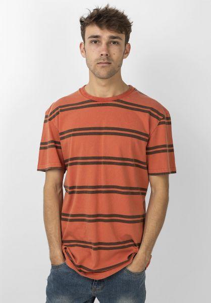 Quiksilver T-Shirts Capitoa redwood-capitoa vorderansicht 0321532