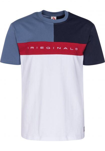 iriedaily T-Shirts Irieginals Block white vorderansicht 0399818