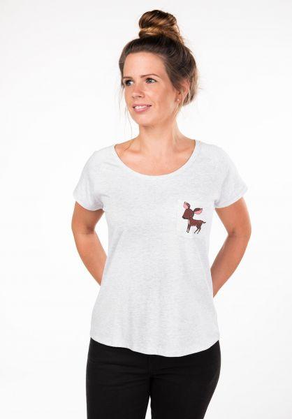 Rules T-Shirts Bambi Pocket lightheathergrey vorderansicht 0397406