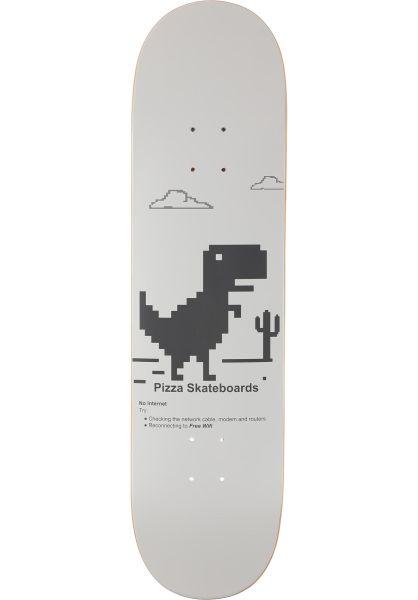 Pizza Skateboards Skateboard Decks Pizza x Free Wifi white vorderansicht 0266188