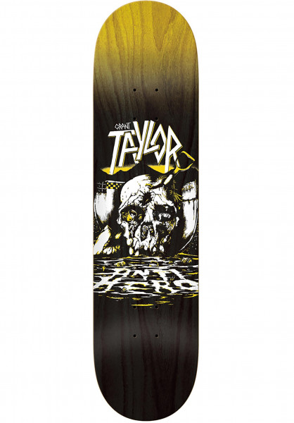Anti-Hero Skateboard Decks Taylor Southbound black Vorderansicht