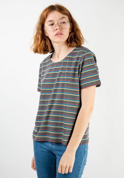 Forvert T-Shirts Ida greymelange-multi vorderansicht 0320109