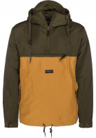 Turbokolor Windbreaker Freitag yellow-green Vorderansicht