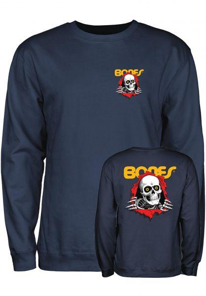 Powell-Peralta Sweatshirts und Pullover Ripper navy vorderansicht 0422757