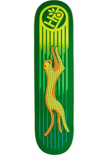 Habitat Skateboard Decks Neon Cheetah green vorderansicht 0264124