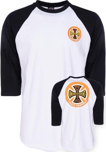 Independent T-Shirts Suspension Sketch Baseball black-white Vorderansicht