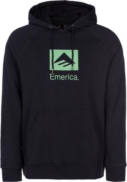 Emerica Hoodies Brand Combo black vorderansicht 0444937