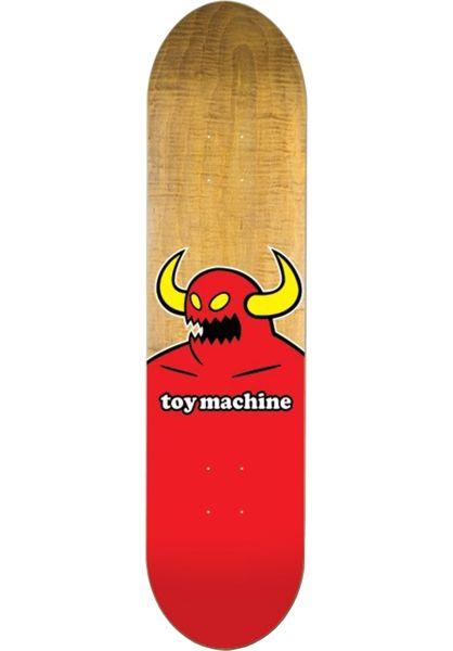 Toy-Machine Skateboard Decks Monster by PS Stix natural vorderansicht 0265934