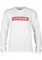 Powell-Peralta Longsleeves Supreme white Rueckenansicht