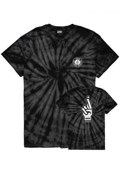 Loser-Machine T-Shirts Drop Out black-spider vorderansicht 0321256