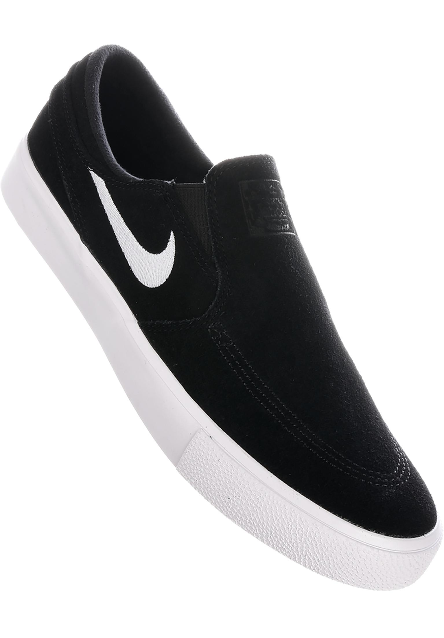 6df16ee46d Zoom Stefan Janoski Slip On RM Nike SB All Shoes in black-white for Men    Titus