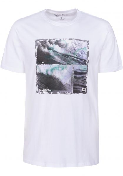 Billabong T-Shirts Morning Brisk white Vorderansicht