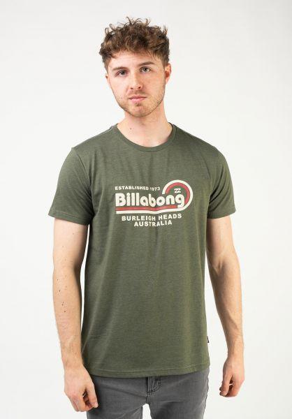 Billabong T-Shirts Repair military vorderansicht 0322647