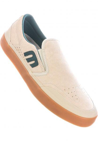 etnies Alle Schuhe Marana Slip XLT x Michelin white-green-gum vorderansicht 0604949