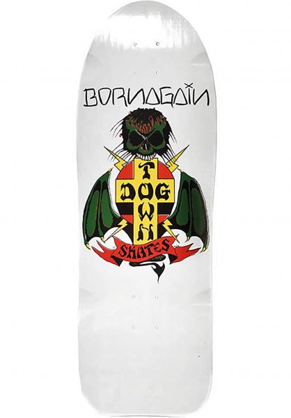 Dogtown Skateboard Decks Born Again Reissue white Vorderansicht