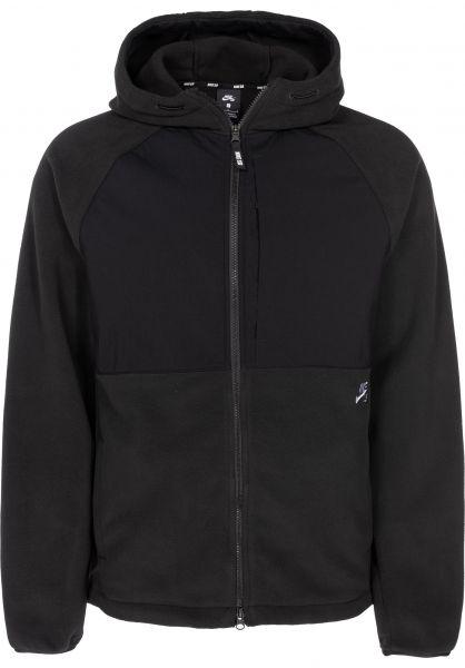 f49a473d08f1 Nike SB Hoodies Therma Polartec black-black vorderansicht 0445093