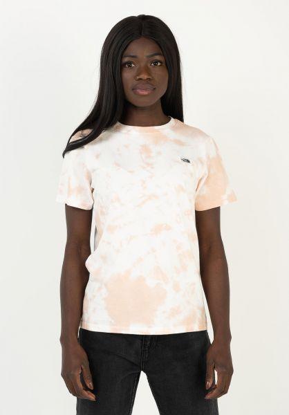 The North Face T-Shirts Natural Dye eveningsandpinkwash vorderansicht 0322933