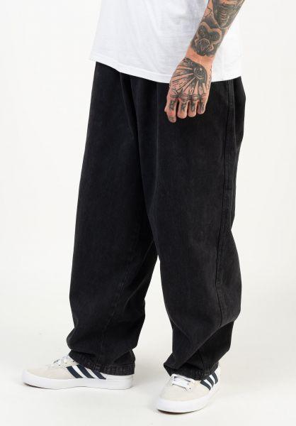 OBEY Jeans Easy Big Boy Denim Pant fadedblack vorderansicht 0269085