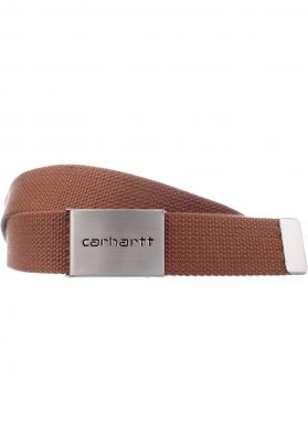 Carhartt WIP Clip-Belt-Chrome