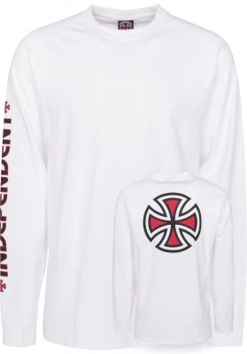 Independent Longsleeves Bar Cross Sleeveprint