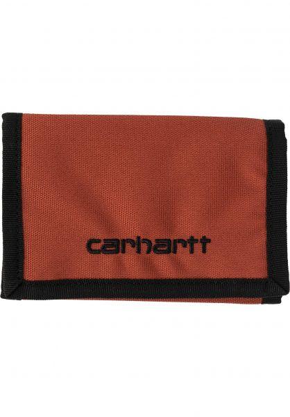 Carhartt WIP Portemonnaie Payton Wallet cinnamon-black vorderansicht 0781005