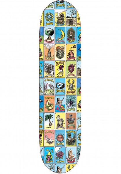 Consolidated Skateboard Decks Loteria De Sadam multicolored Vorderansicht