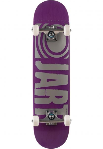 JART Skateboard komplett Classic purple vorderansicht 0161368