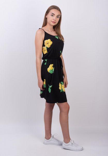Forvert Kleider Melanie black-hibiscus vorderansicht 0801475