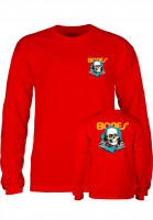 Powell-Peralta Longsleeves Ripper red Vorderansicht