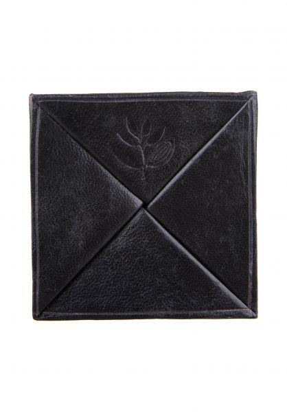 Magenta Portemonnaie Morrocoin black vorderansicht 0781021