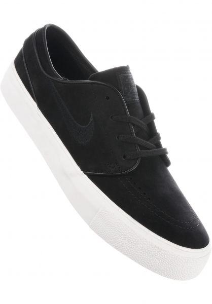 Nike SB Alle Schuhe Zoom Stefan Janoski HT Deconstructed black-black-summitwhite Vorderansicht